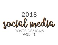 SOCIAL MEDIA | 2018 - VOL . 1