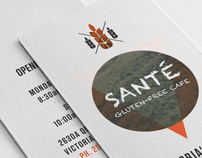Sante Cafe Brochure