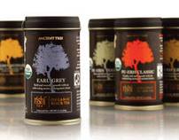 Ancient Tree (Loose Leaf Tea), Package Design