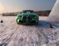 BMW M4 2020   CGI - Advanced Post-Production