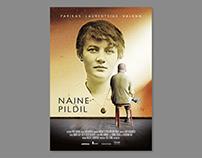 "Poster for documentary ""Naine pildil"". Allfilm 2017"