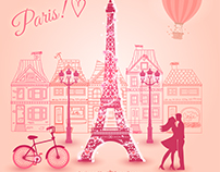 Paris thru my eyes - Vector animation on After Effect