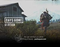 Days Gone UI Design