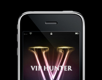 VIP Hunter iPhone App Design