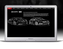 Audi A6 Web App