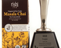 Masala Chai Concentrate, Package Design