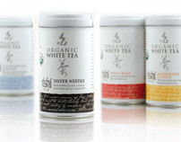 White Tea (Loose Leaf Tea), Package Design