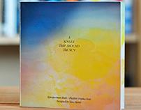 Type Specimen book —A Single Trip Around the Sun.