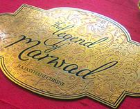 Restaurant Menu Design - The Legend of Marwad
