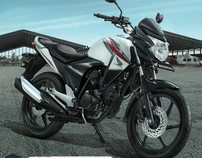 Honda MegaPro - New Stripe 2012