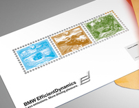 BMW postage stamps