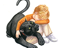 Willy the Panther Cat Children's Early Reader