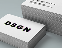 DSGN - personal business card