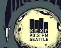 KEXP Discover Music Postcard