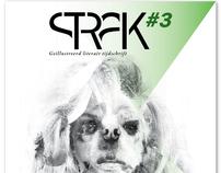 Strak #3, literary magazine with illustrations