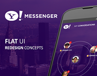 Yahoo Messenger for Android Redesign Concepts
