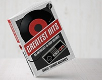 "Book cover design ""Greatest hits"""