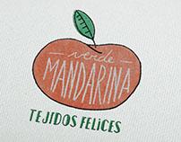 Verde Mandarina - Tejidos felices