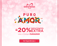 Puro Amor and Vamos Namorar Digital Campaigns
