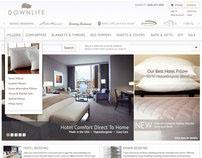 Downlite e-Commerce Website