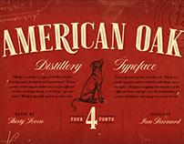 American Oak - Typeface