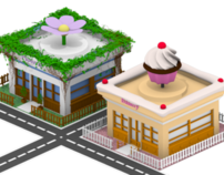 Isometric game elements