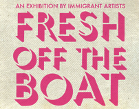 Fresh off the Boat - painting exhibition