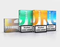 Philip Morris - packaging design for RGD brand.