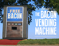 THE BACON VENDING MACHINE: digital video