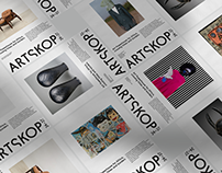 Artskop3437 - Brand identity