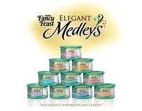 Fancy Feast Elegant Medleys Launch Kit and Event