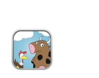 Brown Chicken, Brown Cow iPhone Game