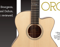 Acoustic Guitar feature on OM Guitars