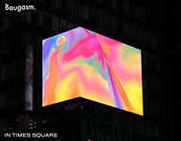 Baugasm in Times Square