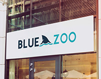 Propuesta de logotipo para Blue Zoo