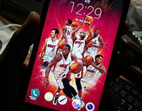 HEATing UP!!_smartphone lock screen wallpaper