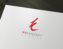NuKoncept Events Logo Designing Project