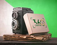 Identidade Visual - 360 Campina