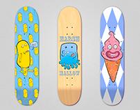 Skateboard Deck Design