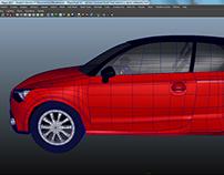 Old Models - Audi A1 3D Model