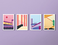 Architectural illustrations | Geom. compositions vol.2