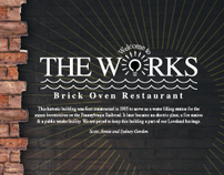"""The Works"" (menu) -GDUSA Award Winner"