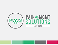Pain Management Solutions Brand Identity