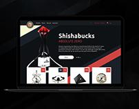 Hookah & shisha shop - web design