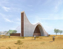 Ondjiva Church, Cunene region, Angola