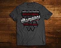 Basketball Champions T-Shirt Design