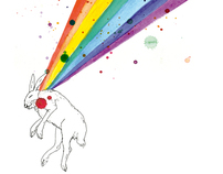 THE RABBIT AND THE RAINBOW SKETCHBOOK