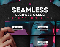 Seamless Business Cards Creation Kit