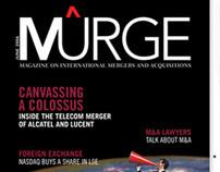 MURGE / magazine concept, logo masthead