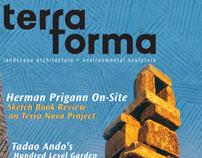 Terraforma / magazine concept